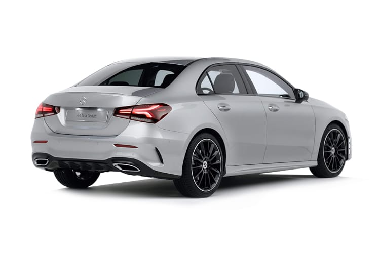 Mercedes-Benz A Class A200 Saloon 4Dr 2.0 d 150PS AMG Line Premium 4Dr 8G-DCT [Start Stop] back view
