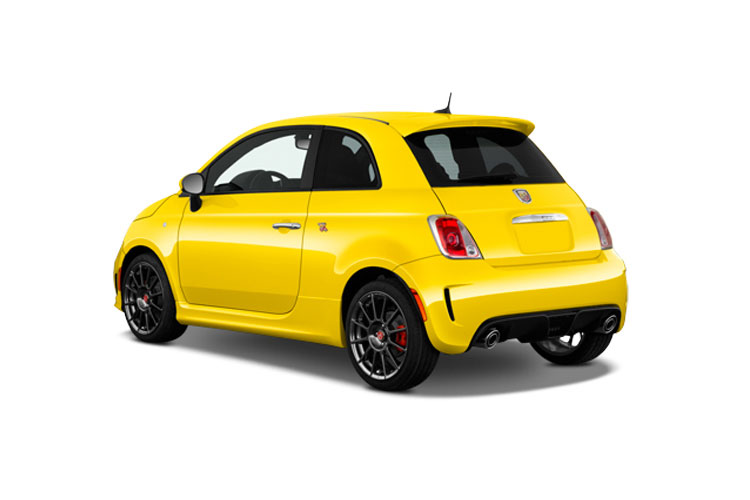 Abarth 595 Hatch 3Dr 1.4 T-Jet 165PS Pista 70th 3Dr Auto back view