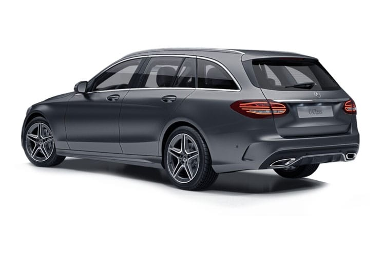 Mercedes-Benz C Class C300e Estate 2.0 d PiH 13.5kWh 306PS AMG Line Night Edition 5Dr G-Tronic+ [Start Stop] [Premium] back view