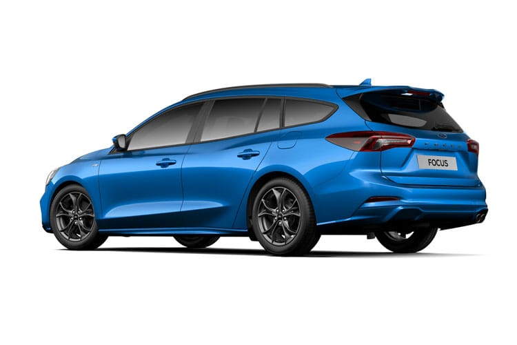 Ford Focus Estate 1.5 EcoBlue 120PS ST-Line X Edition 5Dr Auto [Start Stop] back view