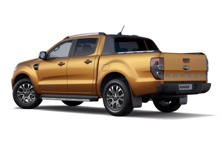 Ford Ranger PickUp Double Cab 4wd 2.0 EcoBlue 4WD 170PS XL Pickup Double Cab Manual [Start Stop] back view