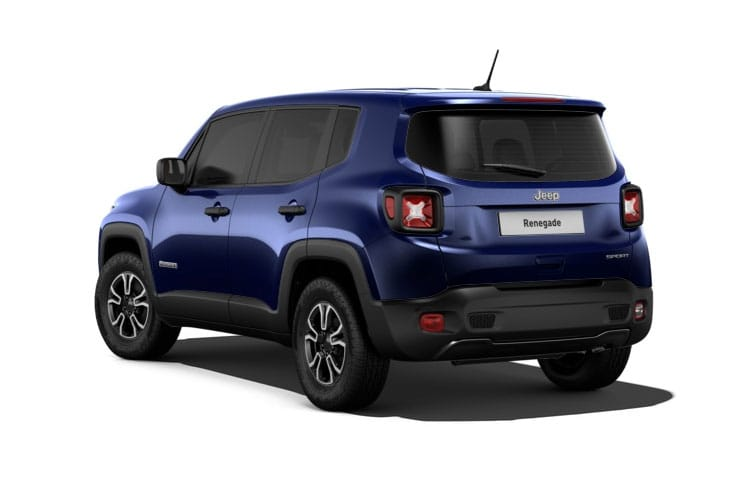 Jeep Renegade 4xe SUV 1.3 GSE T4 PHEV 11kWh 190PS Longitude 5Dr Auto [Start Stop] back view