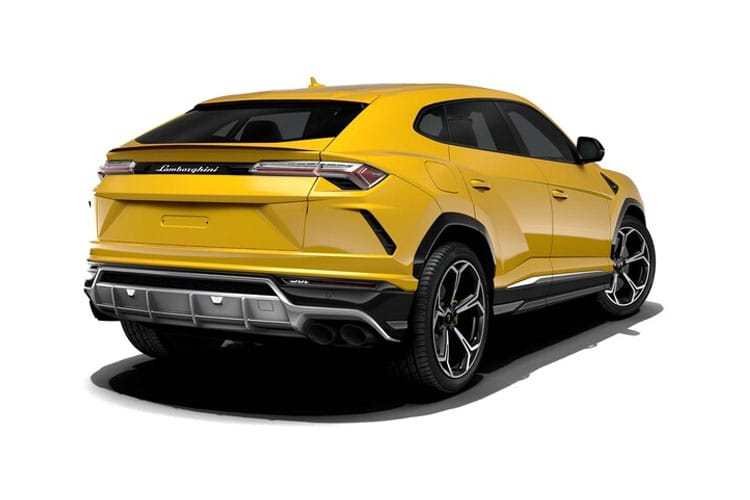 Lamborghini Urus SUV 4.0 V8 BiTurbo 650PS  5Dr Auto back view