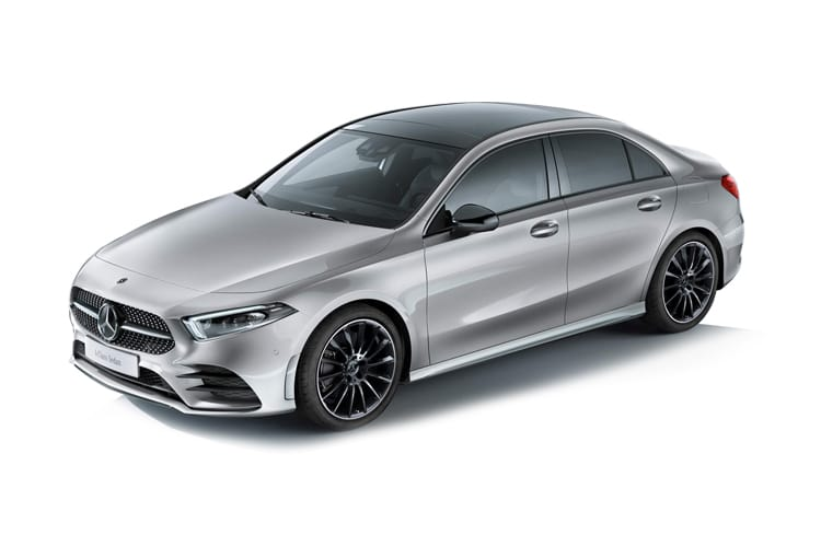 Mercedes-Benz A Class A200 Saloon 4Dr 2.0 d 150PS AMG Line Premium 4Dr 8G-DCT [Start Stop] front view