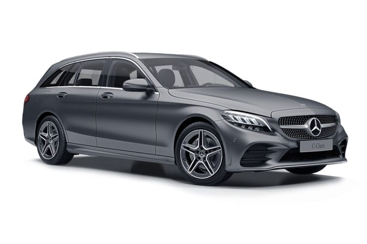 Mercedes-Benz C Class AMG C63 Estate 4.0 V8 BiTurbo 510PS S 5Dr SpdS MCT [Start Stop] front view