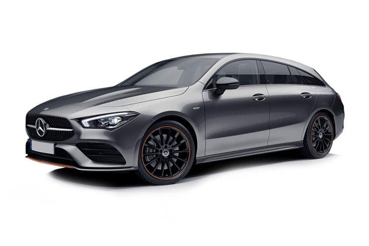 Mercedes-Benz CLA CLA220 Shooting Brake 2.0 d 190PS AMG Line Premium Plus 5Dr 8G-DCT [Start Stop] front view