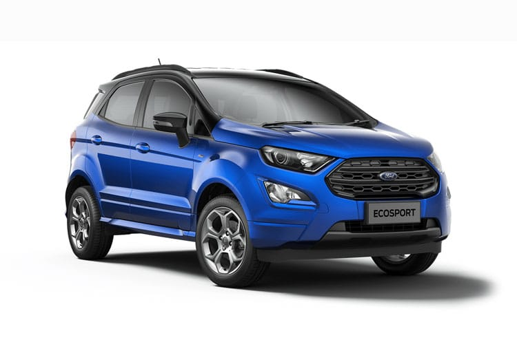 Ford EcoSport SUV 2WD 1.0 T EcoBoost 140PS ST-Line 5Dr Manual [Start Stop] front view