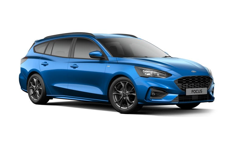Ford Focus Estate 1.5 EcoBlue 120PS ST-Line X Edition 5Dr Auto [Start Stop] front view