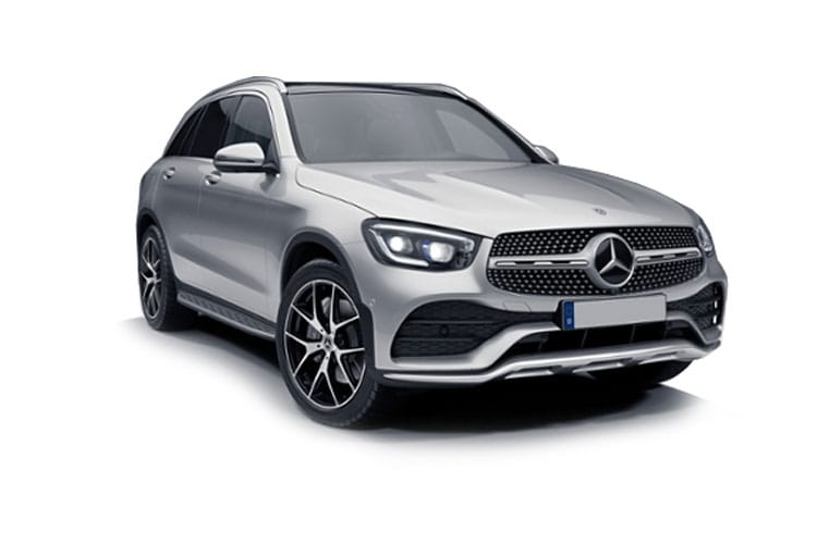 Mercedes-Benz GLC GLC300 SUV 4MATIC 2.0 MHEV 272PS AMG Line 5Dr G-Tronic+ [Start Stop] front view