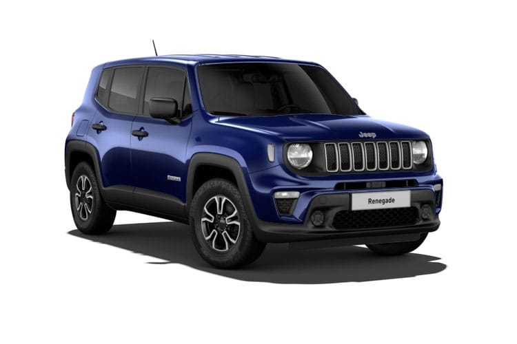 Jeep Renegade 4xe SUV 1.3 GSE T4 PHEV 11kWh 190PS Longitude 5Dr Auto [Start Stop] front view