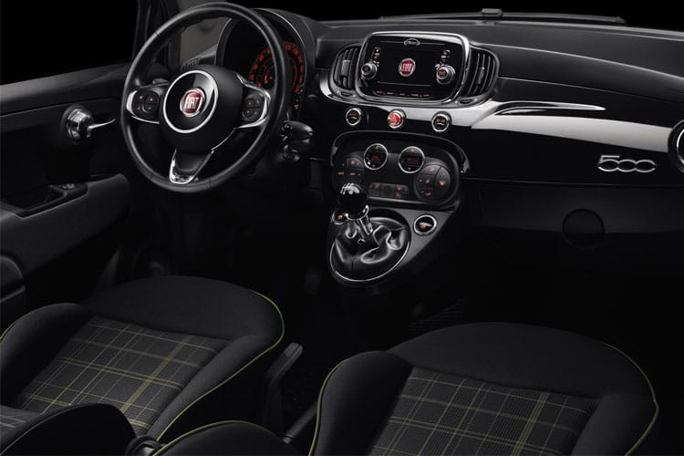 Fiat 500 Hatch 3Dr 1.0 MHEV 70PS Dolcevita Plus 3Dr Manual [Start Stop] inside view