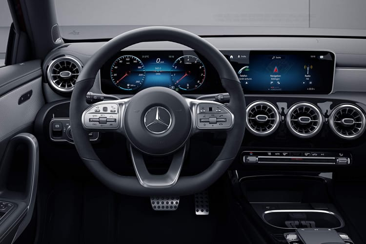 Mercedes-Benz A Class A200 Saloon 4Dr 2.0 d 150PS AMG Line Premium 4Dr 8G-DCT [Start Stop] inside view