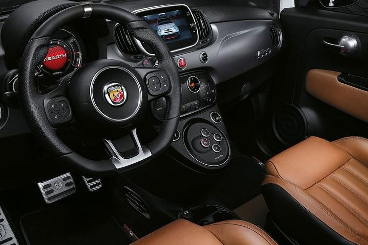 Abarth 595 Hatch 3Dr 1.4 T-Jet 165PS Pista 70th 3Dr Auto inside view