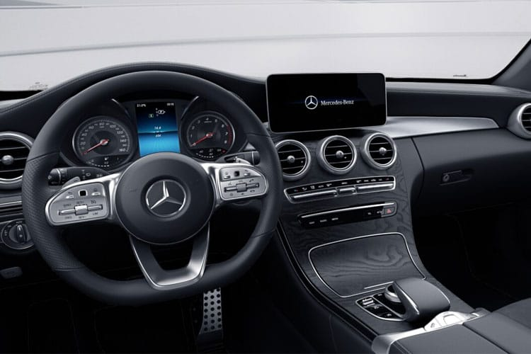 Mercedes-Benz C Class C200 Cabriolet 1.5 MHEV 198PS AMG Line Edition Premium 2Dr G-Tronic+ [Start Stop] inside view