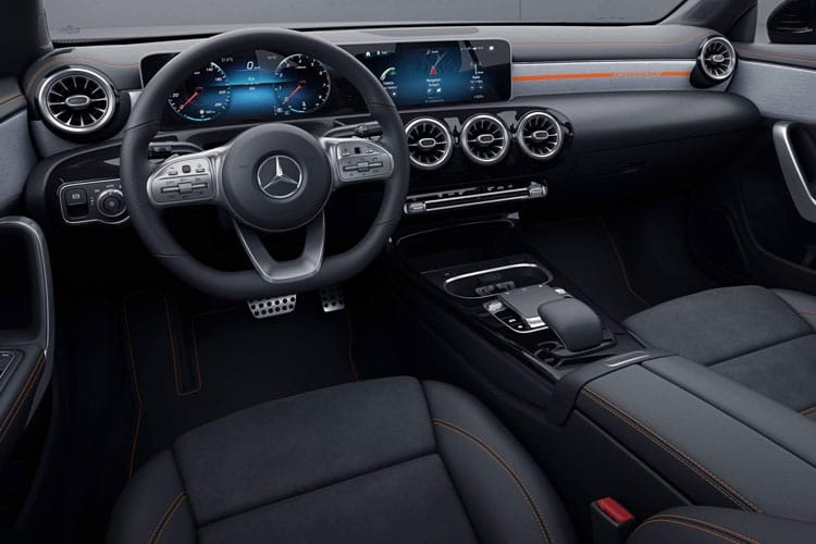 Mercedes-Benz CLA CLA220 Shooting Brake 2.0 d 190PS AMG Line Premium Plus 5Dr 8G-DCT [Start Stop] inside view