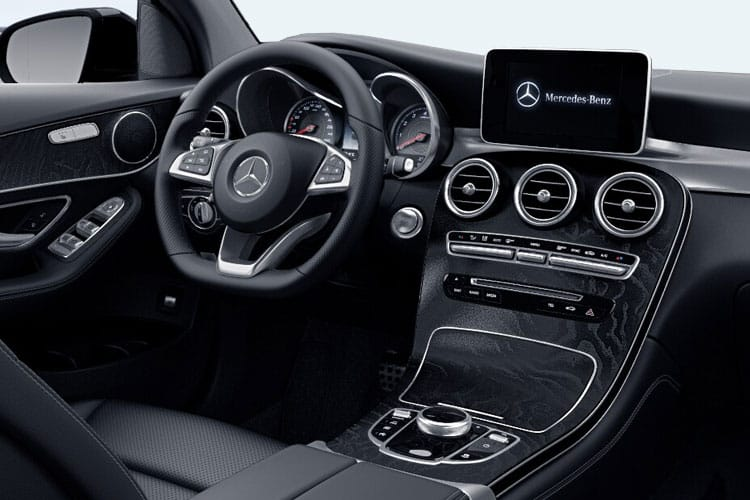 Mercedes-Benz GLC GLC300e Coupe 4MATIC 2.0 d PiH 13.5kWh 306PS AMG Line 5Dr G-Tronic+ [Start Stop] inside view