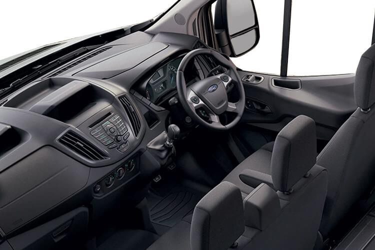 Ford Transit 350HD L4 RWD 2.0 EcoBlue DRW 170PS Leader Luton Manual [Start Stop] inside view