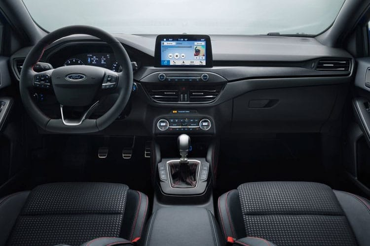 Ford Focus Estate 1.5 EcoBlue 120PS ST-Line X Edition 5Dr Auto [Start Stop] inside view