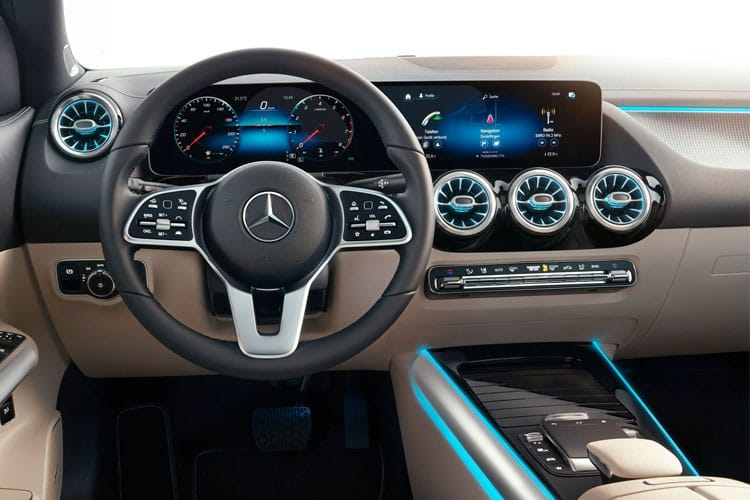 Mercedes-Benz GLA GLA180 SUV 1.3  136PS AMG Line 5Dr 7G-DCT [Start Stop] inside view