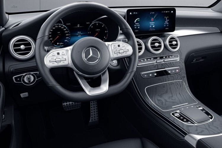 Mercedes-Benz GLC GLC300 SUV 4MATIC 2.0 MHEV 272PS AMG Line 5Dr G-Tronic+ [Start Stop] inside view