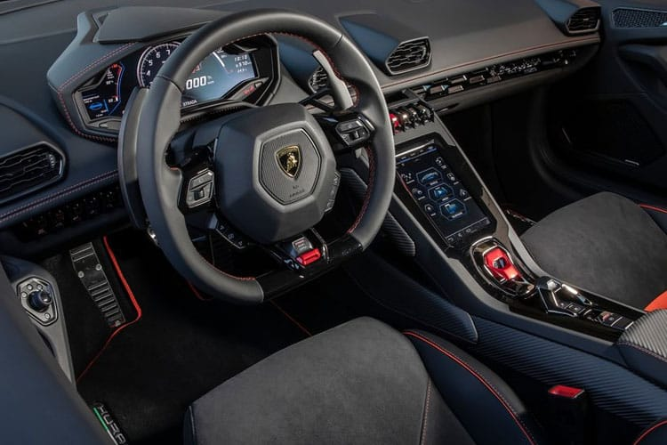 Lamborghini Huracan Coupe 5.2 V10 640PS LP 640-4 EVO 2Dr LDF [Start Stop] [Fluo Capsule] inside view