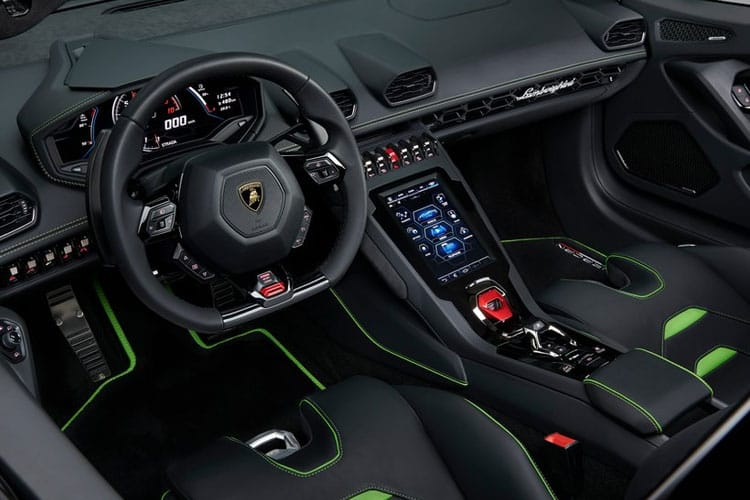 Lamborghini Huracan Spyder 5.2 V10 610PS LP 610-4 2Dr LDF [Start Stop] inside view