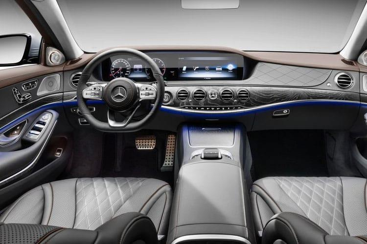 Mercedes-Benz S Class S500L Saloon 4MATIC 3.0 MHEV 435PS AMG Line Premium Executive 4Dr G-Tronic+ [Start Stop] inside view
