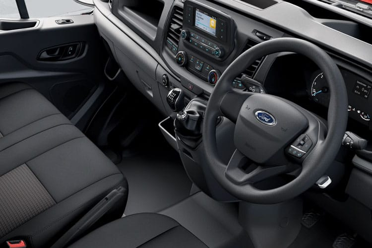 Ford Transit 350 L3 2.0 EcoBlue FWD 170PS Leader Chassis Double Cab Manual [Start Stop] inside view