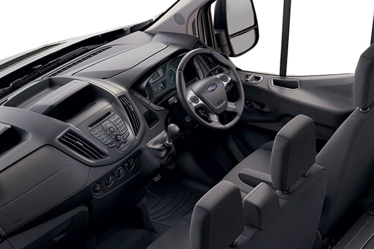 Ford Transit 350 L2 2.0 EcoBlue FWD 130PS Leader Tipper Manual [Start Stop] [1Way 1Stop Aluminium] inside view