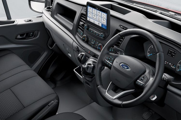 Ford Transit 350 L3 2.0 EcoBlue MHEV FWD 130PS Limited Crew Van Medium Roof Manual [Start Stop] [DCiV] inside view